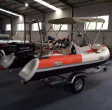 Inflatable Rigid Boat/ Rib Boat/Inflatable Motor Boat for Sale