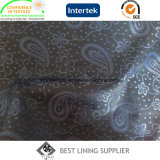 100% Polyester Men's Jacket Jacquard Liner Lining Fabric Supplier