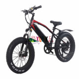 20′′ Aluminum Alloy Folding Bike off-Road Biking Mountain Bike 7 Speed Electric Bicycle