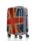 The Union Flag Pattern ABS+PC Trolley Case Printing Hardshell Luggage (XHPA001)