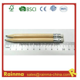 10cm Wood Golf Pencil with Natural Color