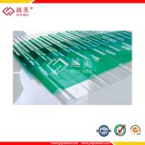 Ten Years Warranty 0.8mm to 2mm Corrugated Polycarbonate Sheet