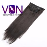 Big Sale 100% Brazilian Hair Clip in Human Natural Hair Extension