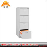 Cheap Wholesale Office Furniture Light Grey 4 Drawer Steel File Cabinet