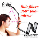 Cheap Mult-Functional Foldable Makeup Round Mirror for Hair Fiber