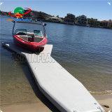 Drop Stitch Material Inflatable Y Shape Floating Platform Dock Inflatable Jet Ski Dock