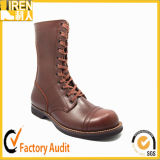 Fashion Brown Color Style Military Army Boot