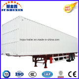 Two-Axles Heavy Duty Van/Box Utility Transportor Semi Truck Cargo Trailer for Sale