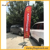 Cheap Custom Aluminium Digital Printing Teardrop/ Feather /Flying/Beach Banner