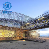 Decorative Perforated Laser Cut Stainless Steel Office Divider Screen