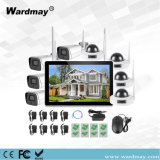 "10"" LCD WiFi NVR Wireless Camera Indoor Outdoor"
