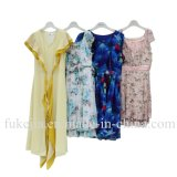 Grade AAA Used Clothing Secondhand Clothes Used Clothes for Africa Used Summer Clothes Lady Silk Dress