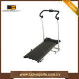 Home Use Fitness Manual Jogger Single Flat Treadmill