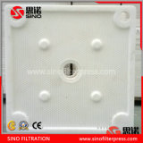 High Pressure PP Chamber Filter Press Filter Plate