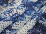 Wholesale Custom 100% Polyester Printed Mesh Fabric for Clothing