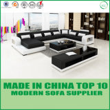 Home Furniture U Shape Leather Corner Sofa