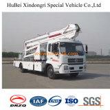 24-26m Dongfeng Aerial Platrom Truck Crane