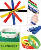 Fashion Wholesale USB Silicone Wristband/ Bracelet USB Flash Drive
