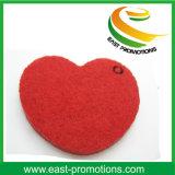 Lovely Heart Shaped Wool Laser Cutting Felt Coaster