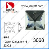 China Factory Square Crystal Sew on Stones for Dresses Decoration