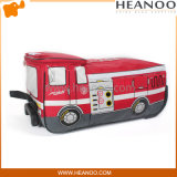 3D Fire Fighting Truck Shape Kids Luggage Trolley Backpack Bag