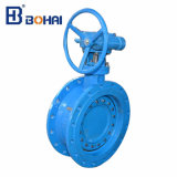 Wras Approved Double Eccentric Soft Seat Butterfly Valve