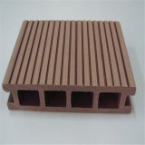 Outdoor WPC Decking Prices Hollow and Grooved Wood Plastic Composite Flooring