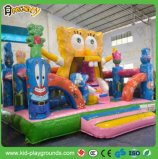 Giant New Style 0.55mm PVC Tarpaulin Inflatable Amusement Park, Kids Outdoor Inflatable Fun City Amusement Park for Sale