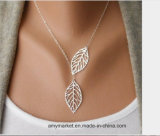 Leaf Collarbone Chain Necklace Hot Selling Western Style Alloy Necklaces