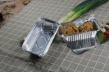 Eco-Friendly Aluminum Foil Microwave Oven Safe Takeway Lunch Box for Japanese