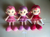 Plush Soft Rag Dolls with Good Looking Dress