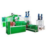 Double Stage Single Screw Plastic Recycling PP/PE/Pet Granulating Pelletizer Machine Price
