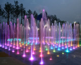 Outdoor Dynamic Dry Floor Fountain Interactive Dancing Music Water Fountain