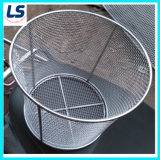 Stainless Steel Woven Wire Mesh Basket for Medical Storage