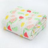 Organic Baby Swaddle 100% Cotton 6 Layers Muslin Baby Monthly Blanket
