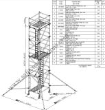 SGS Approved Aluminum Scaffolding for Decoration