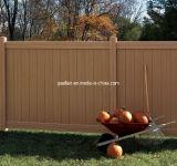 Top Quality White Brown Black Color Plastic PVC/Vinyl Cheap Privacy Fence Panels for Sale