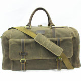 Men Real Leather Business Shoulder Hard Briefcase Laptop Office Travel Bags with Straps (W608-2)