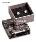 Cheap Grey Color Paper Jewelry Packaging Gift Box for Earring