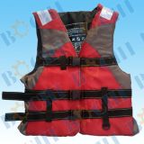 Supplier Manufactures Water Sports Foam Vest Type Marine Life Jacket