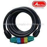 High Quality Code Bicycle Cable Lock (543)