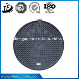 Waterproof/Lockable/Sewer/Grate Ductile/Wrought Iron Casting Manhole Cover