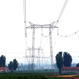 500 Kv Gate-Shaped Lattice Steel Tower