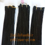 18 Inch Synthetic Micro Twist Braid Hair Weave Prebraided Hair, Micro Twist Braided Synthetic Hari Extension