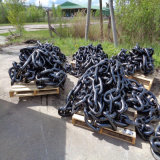 Pitched Stud Link Anchor Chain for Marine