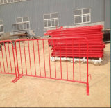 Traffic Crowd Control Barrier with Flat Feet/Steel Pedestrian Barrier