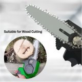 Handheld 18V Electric Chainsaw Lithium Battery Cordless Rechargeable Mini Chain Saw for Tree Branch Wood Cutting