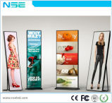 P3mm Glass LED Poster Display with WiFi 3G Function
