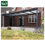 Sun Shelter Wall Mounted PC Roof Alu with PC Panel