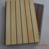 15mm Eco Plant Fiber Interior Grooved Wooden Acoustic Wall Panel